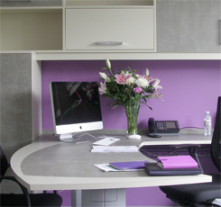 fitted office, home office, bespoke office